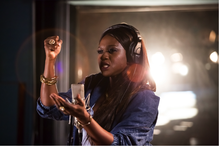 Strong Girls to inspire:  – Waje Iruobe (Musician, activist)