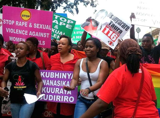 Caren: Making sure that women's voices are heard