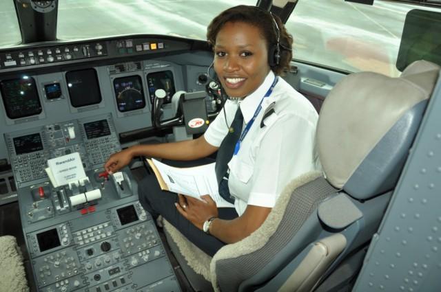 Meet Esther, the first female commercial pilot in Rwanda