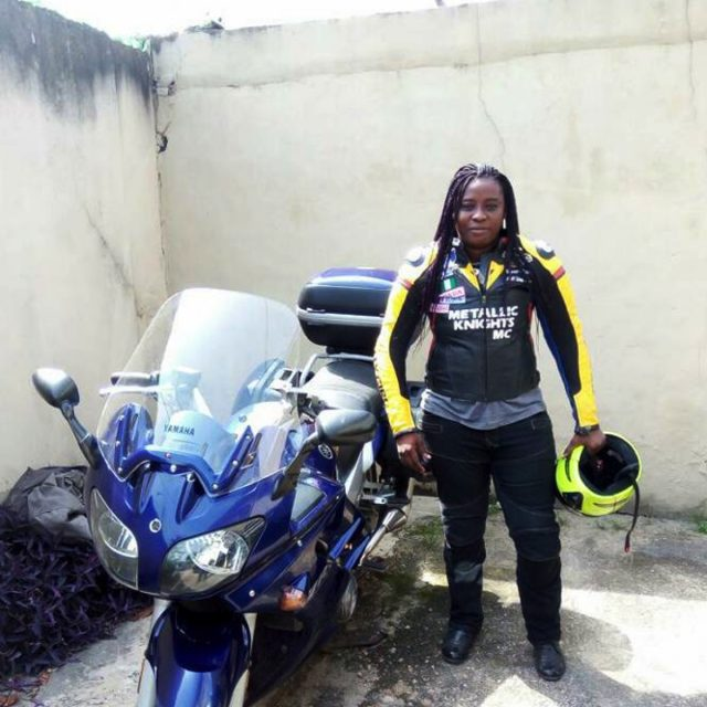 Here are the female bikers that ride to save lives in Nigeria