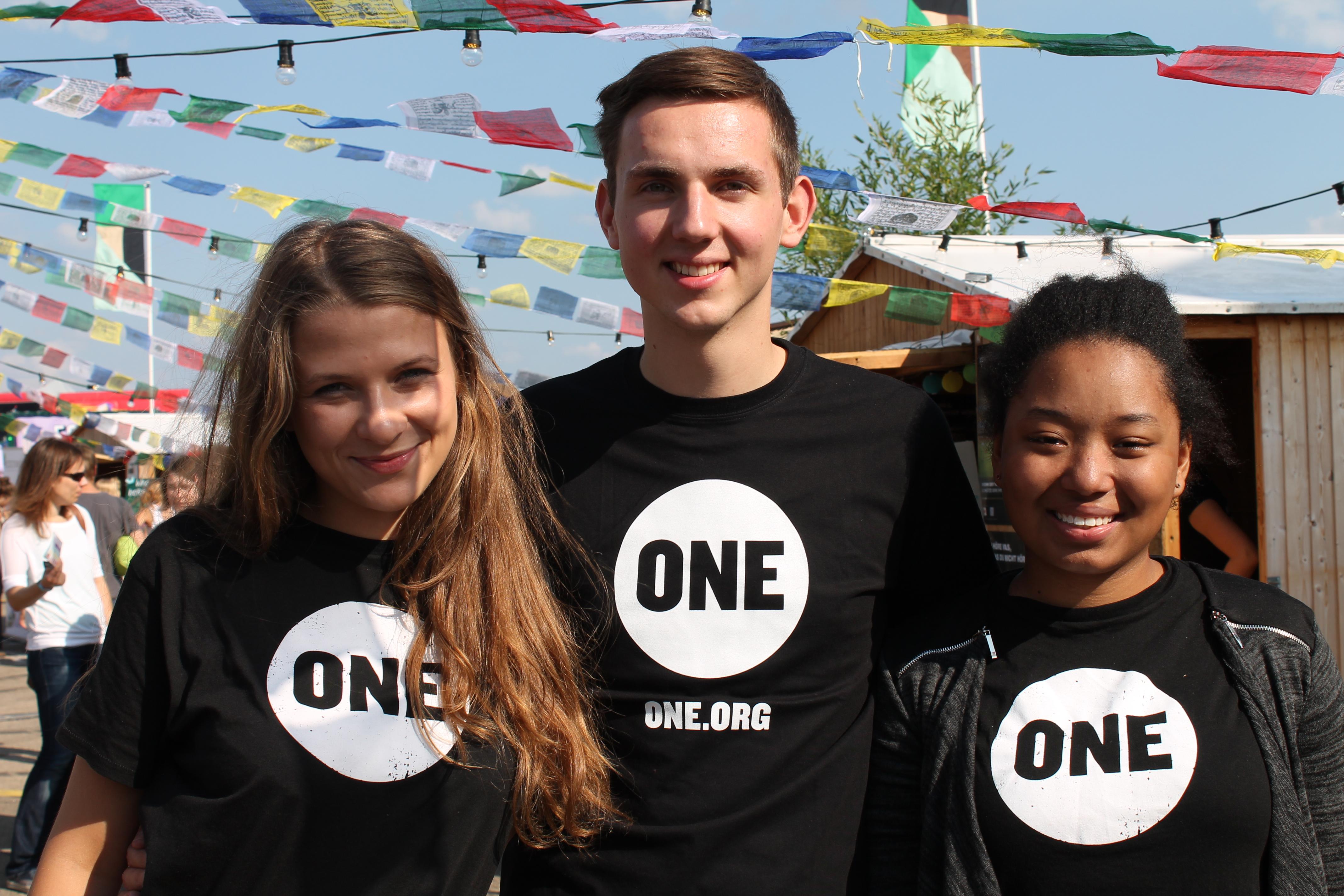 Mit ONE auf dem Lollapalooza: Peace, Love, Music und Strengthies