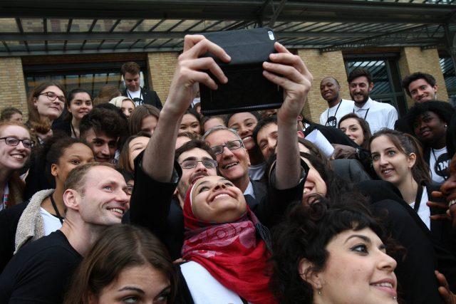 Eindrücke vom Gipfel der Jugendbotschafter in Paris