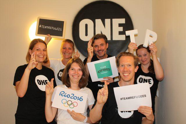ONE unterstützt das #TeamRefugees