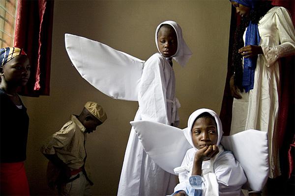 Wie in Afrika Weihnachten gefeiert wird