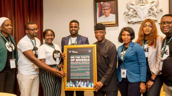 Junge Menschen in Nigeria vereinen ihre Kräfte für eine vielsprechende Zukunft