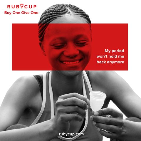 'Ruby Cup' revolutioniert den Umgang mit der Periode in Afrika