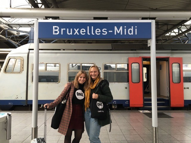 Maxi und Nina in Brüssel 2019