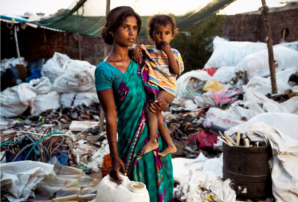 Le pouvoir des images pour montrer l'urgence de mettre fin à l'extrême pauvreté
