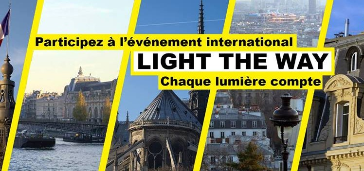 #LightTheWay , de Paris à New-York