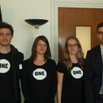 Les jeunes Ambassadeurs avec Maxime Georges, collaborateur parlementaire de Michel Vauzelle, député PS des Bouches-du-Rhône