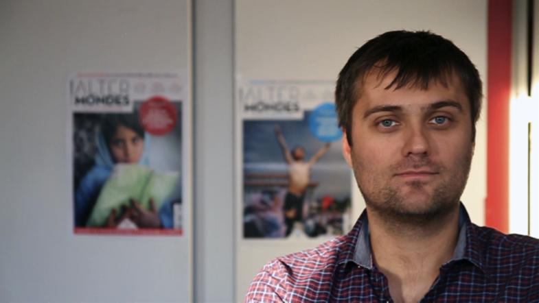 Rencontre avec David Eloy, rédacteur en chef d'Altermondes