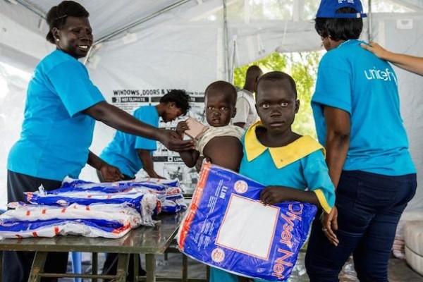 Protéger les familles du paludisme au Soudan du Sud grâce aux moustiquaires