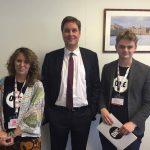 Avec Christopher Sharrock, représentant du Royaume-Uni à l'OCDE