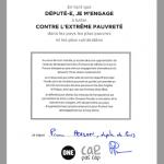 La signature du député REM Pierre Person