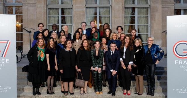 G7 à Biarritz : le Conseil consultatif pour l'égalité entre les femmes et les hommes a publié son rapport !