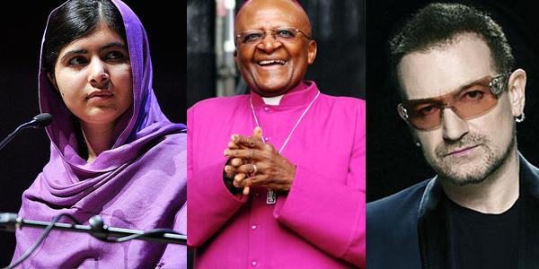 Malala, Desmond Tutu, Bono, Dbanj & others send stark warning to world leaders