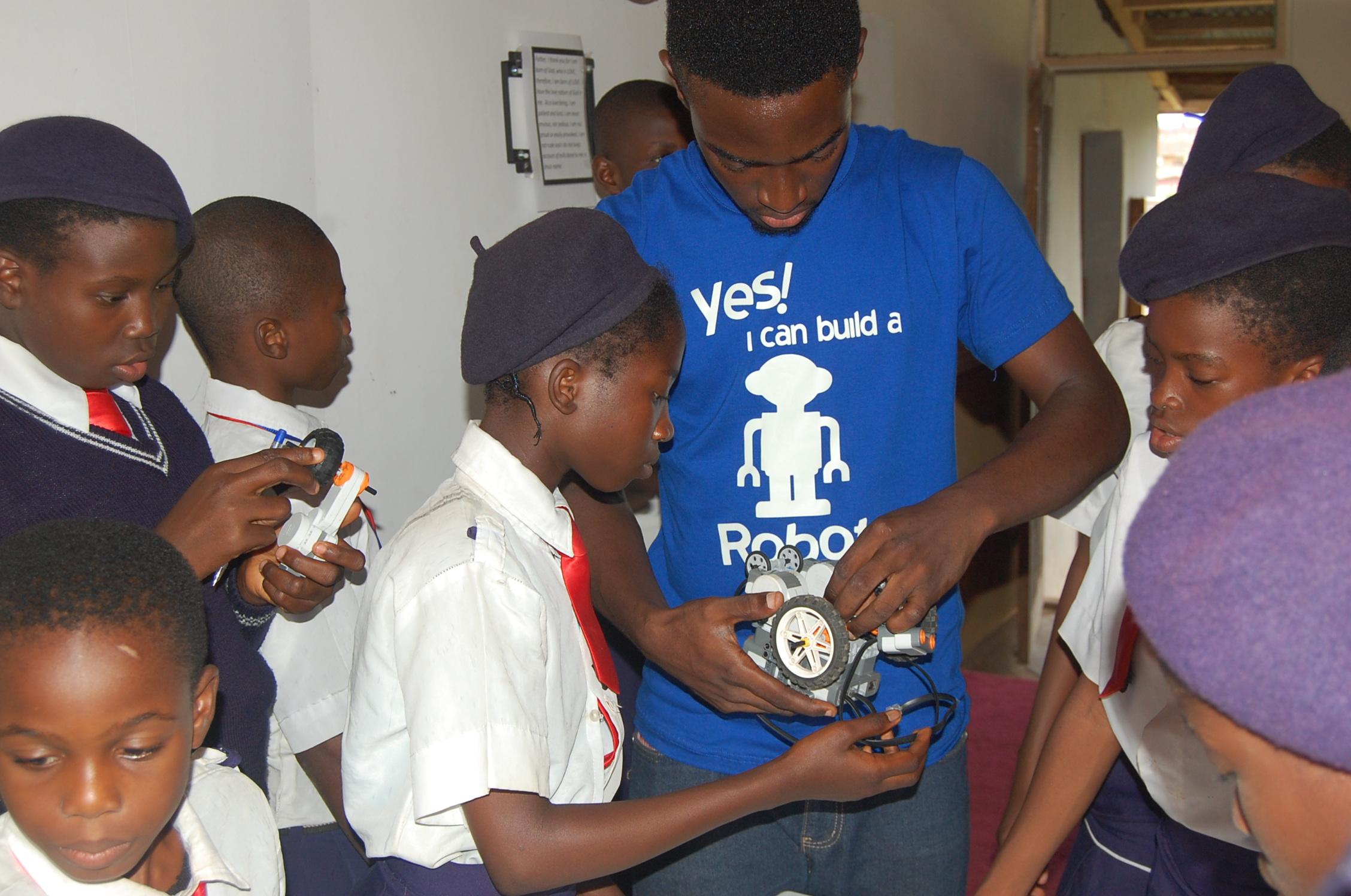 Welcome to Nigeria's robot school!