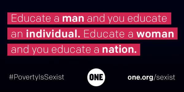 Our campaign, Poverty is Sexist.