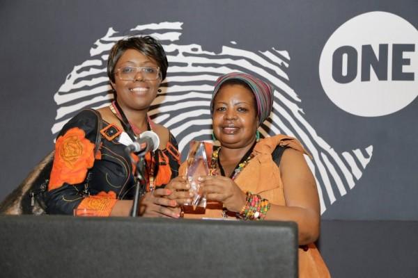 Winners of the 2015 ONE Africa Award - SWAGEN