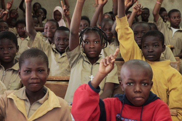 In sub-Saharan Africa, boys are far more likely to complete their schooling than girls. Credit: Jess Lea/DFID
