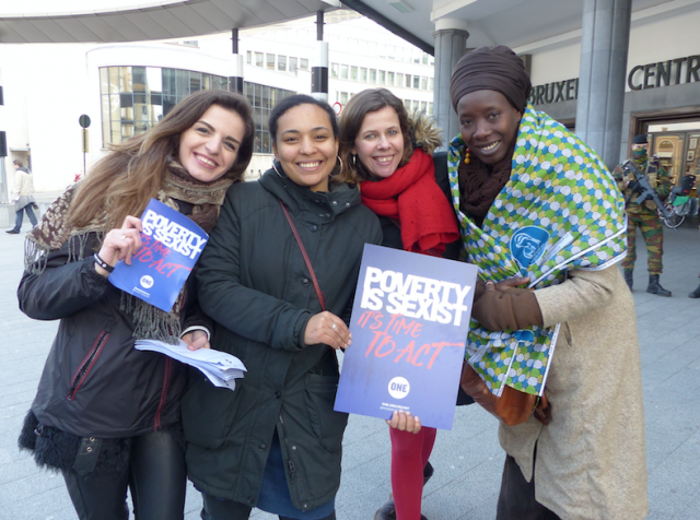 Why we marched together in Brussels on International Women's Day