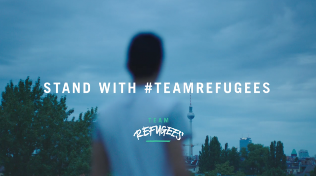 """#TeamRefugees: """"They motivated me"""""""
