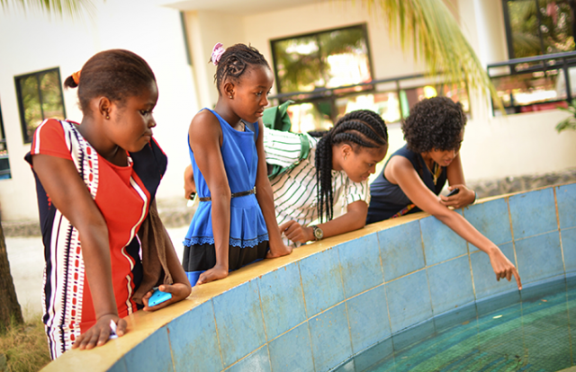 How a female scientist collective is empowering girls in Sierra Leone