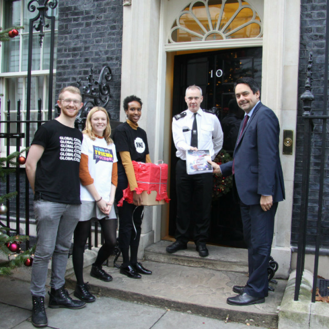 5 things UK ONE members have done to get the UK government to support girls' education