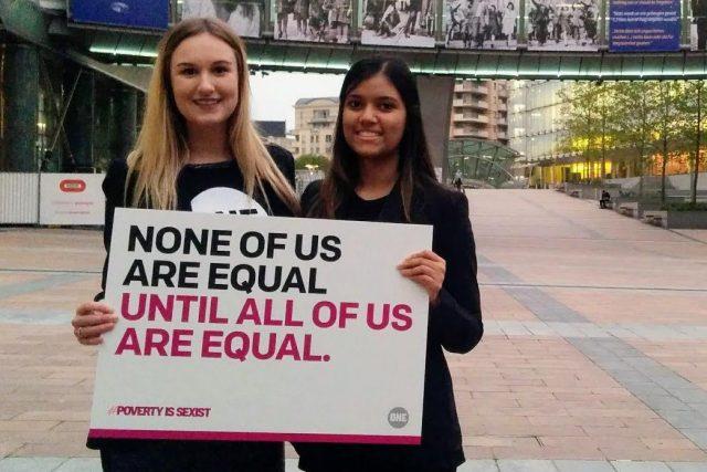 Ces étudiantes Canadiennes se mobilisent pour l'élimination de la pauvreté