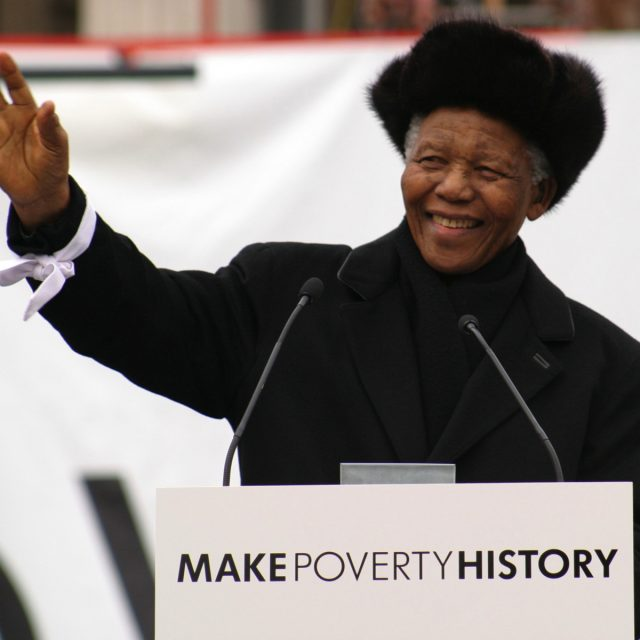 8 powerful quotes from Mandela's 'Make Poverty History' speech