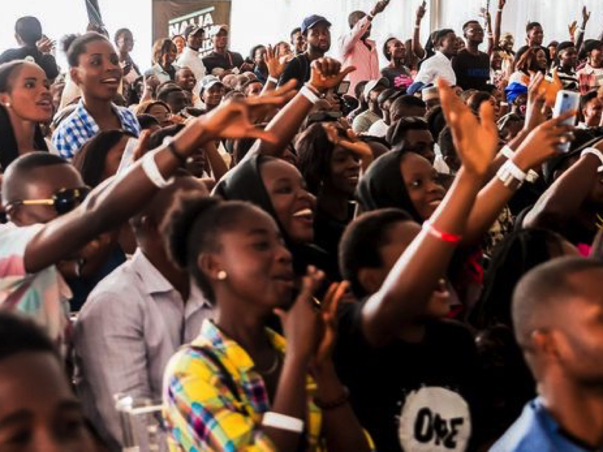 Three thousand young people from across Nigeria gathered in the capital Abuja to launch #VoteYourFuture.