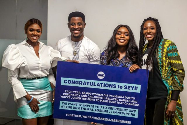 ONE takes over Big Brother Naija for healthcare pitch competition