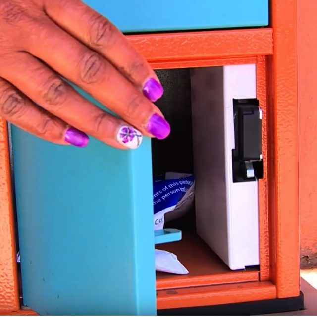 These innovative smart lockers are improving access to medication