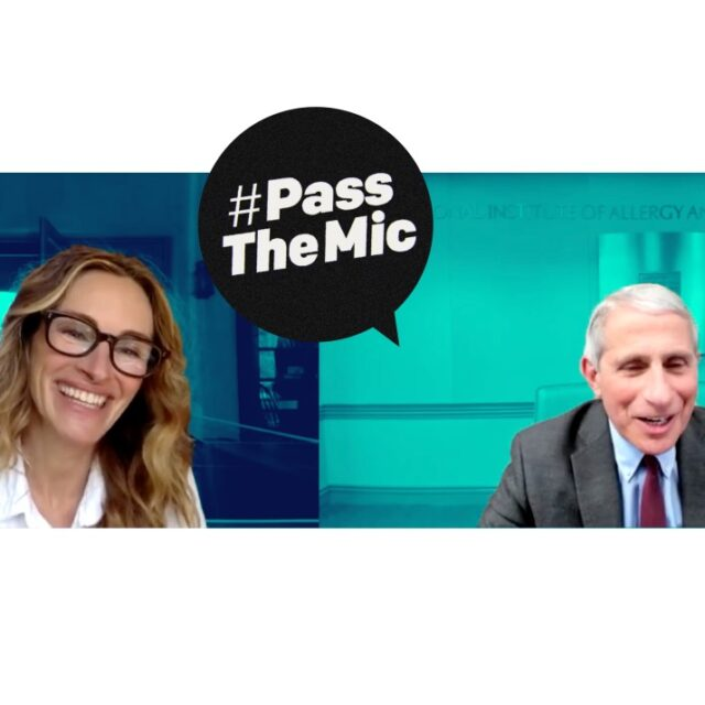 Watch now: Julia Roberts and Anthony Fauci on the power of science