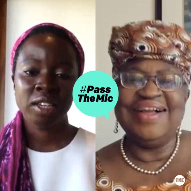 Watch now: Danai Gurira and Ngozi Okonjo-Iweala on inequalities