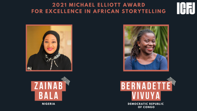Zainab Bala and Bernadette Vivuya Win The Michael Elliott Award for Excellence in African Storytelling