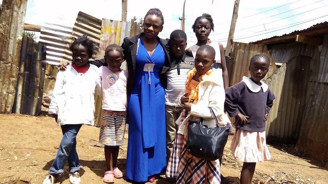 Sally: strijden voor vrouwenrechten, in Afrika en overal ter wereld