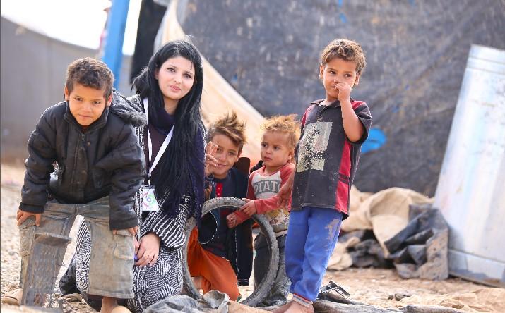 Vrijwilligerswerk in een vluchtelingenkamp in Irak: Het verhaal van ONE jeugdambassadeur Shakiz