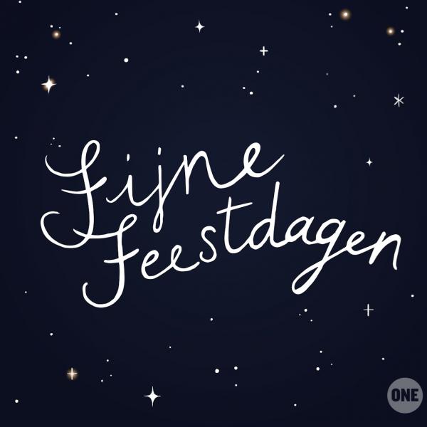 Wens een ander 'fijne feestdagen' in 9 verschillende talen