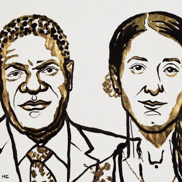 Nobelprijswinnaars voor de Vrede bestrijden het gebruik van seksueel geweld als oorlogswapen