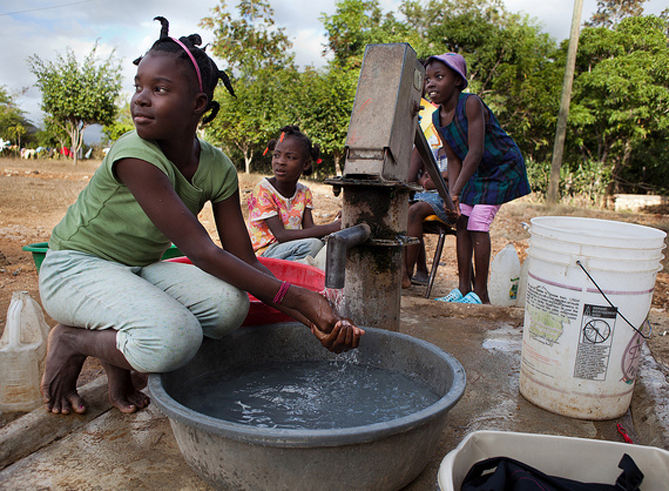 Fact of the day: Water is our most vital resource, yet access is not a given