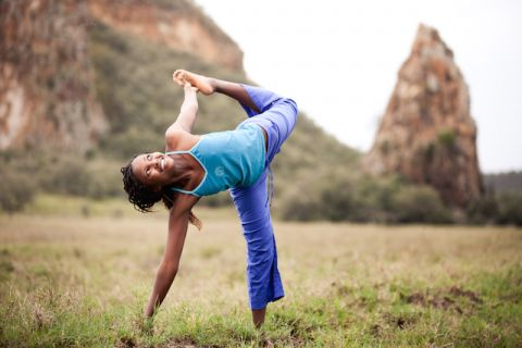 Yoga is helping end poverty in Africa — no, seriously