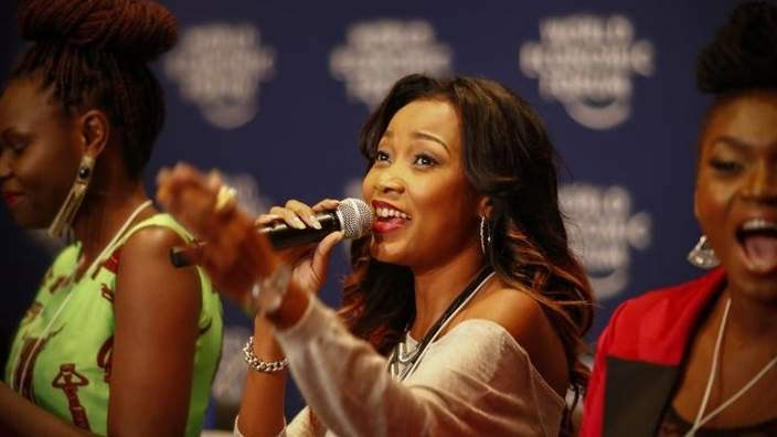 Sisters in Song at the World Economic Forum on Africa