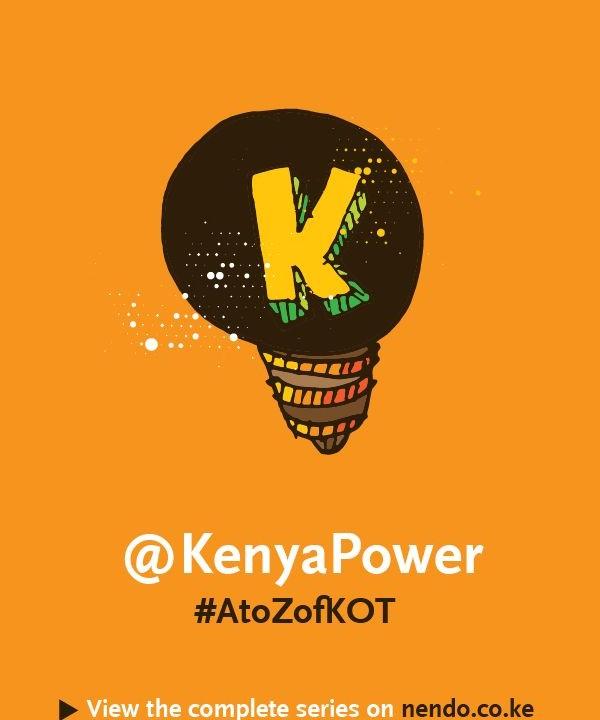 K is for @KenyaPower