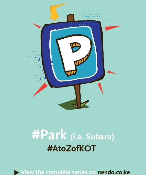 P is for #Park (i.e. Subaru)