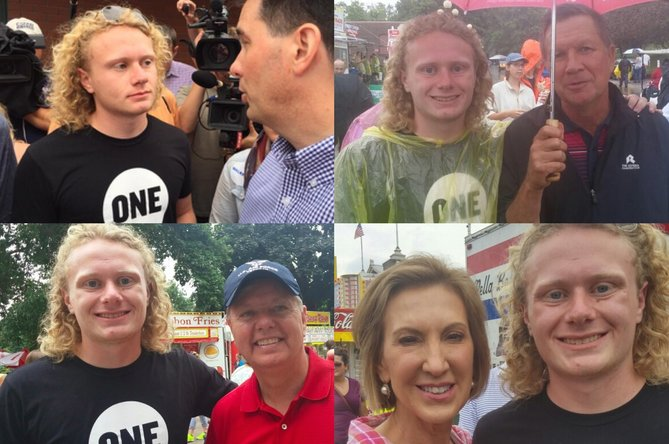 The Iowa State Fair: Food, fun and famous politicians
