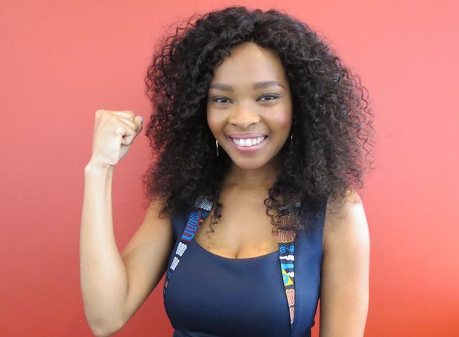 Meet South Africa's #StrongGirl, Mpho MacChambers!