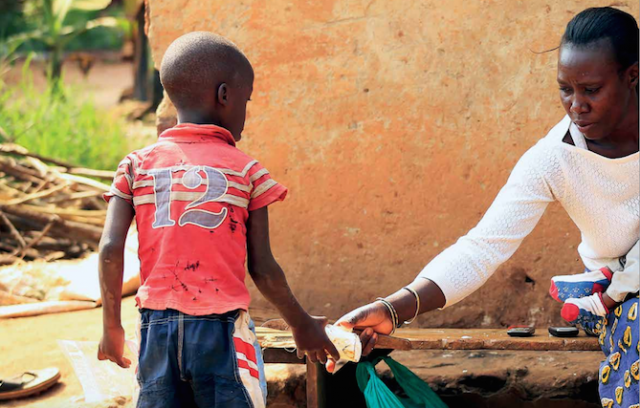 """""""My son and I were living with HIV and we were all alone."""""""