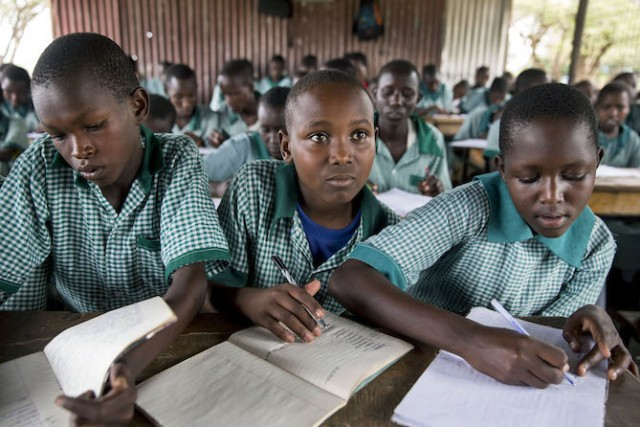 Celebrating 15 years of the Millennium Development Goals