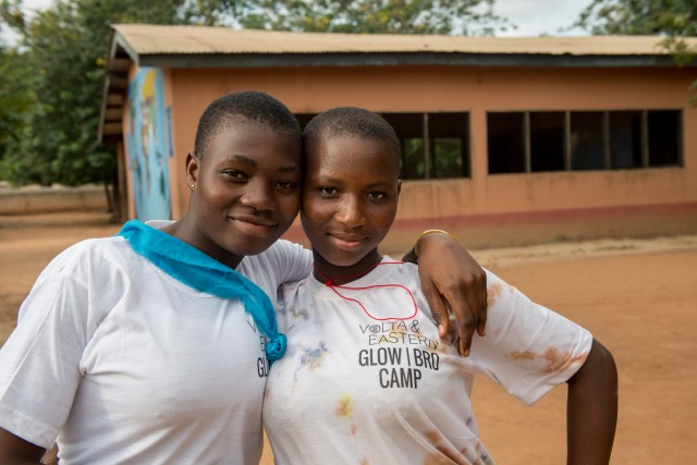 """Girls Leading Our World: """"If a girl furthers her education, she can become a leader…"""""""